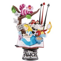 BEAST KINGDOM D-STAGE DIORAMA 010 ALICE WONDERLAND DISNEY